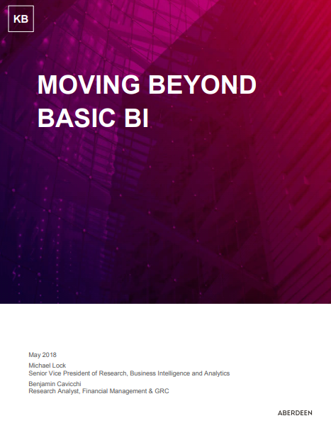 Moving beyond basic BI