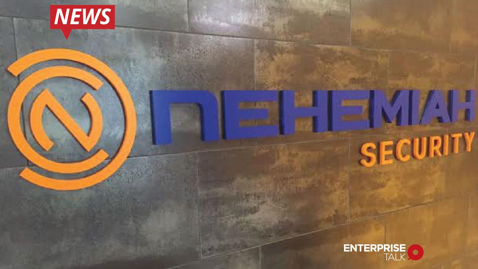 Nehemiah Security, Risk Quantifier 3.4, SaaS solution, Risk Quantifier, Cyber risk, Cybersecurity, NIST, MITRE ATT&CK