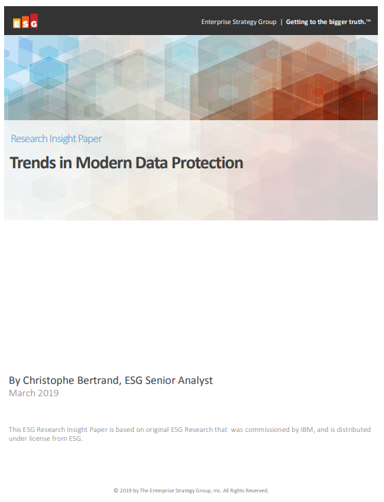 Trends in Modern Data Protection