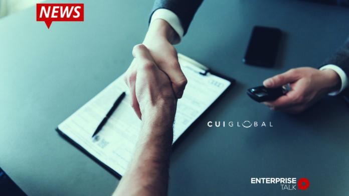 CUI Global, Inc. , Solar EPC