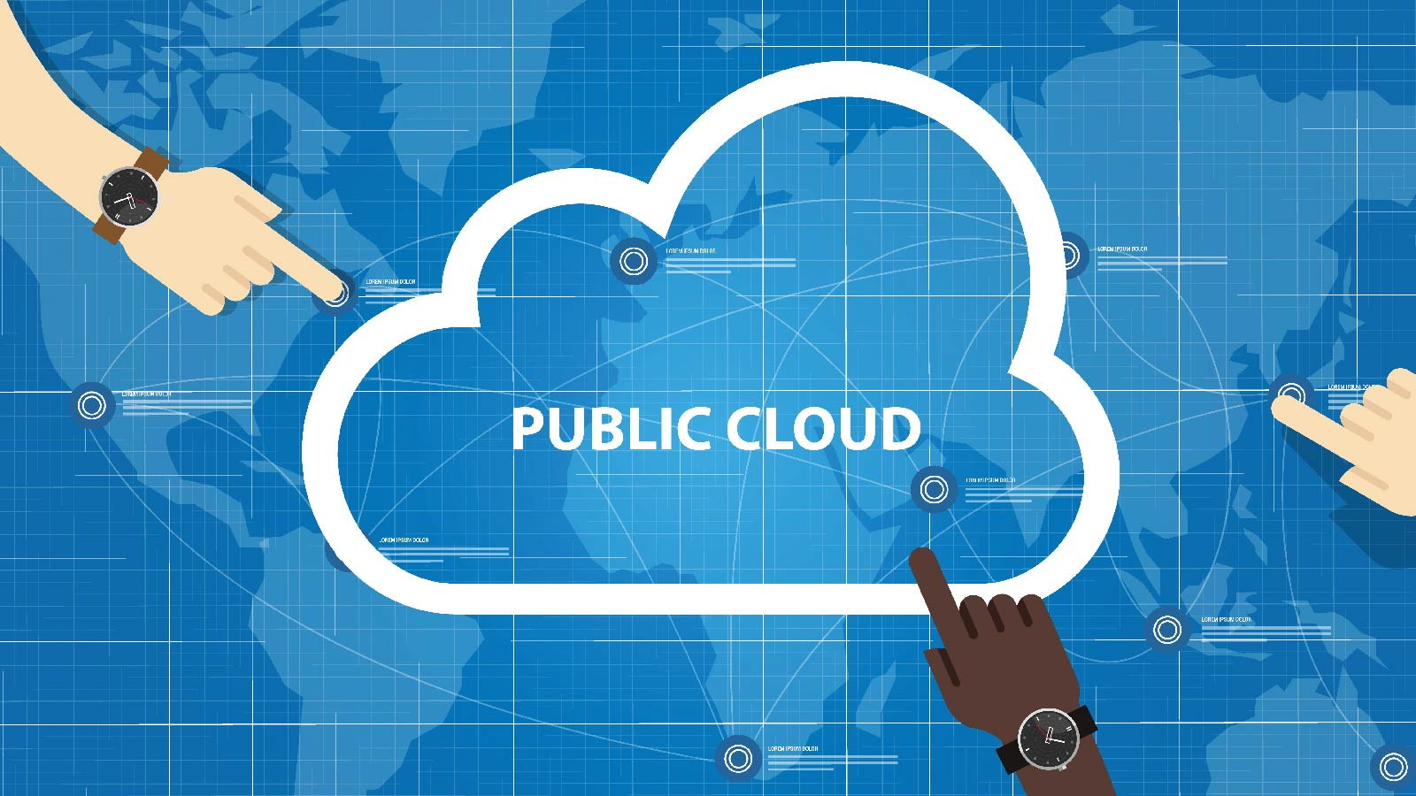 The Worldwide Public Cloud Services Market Is Booming
