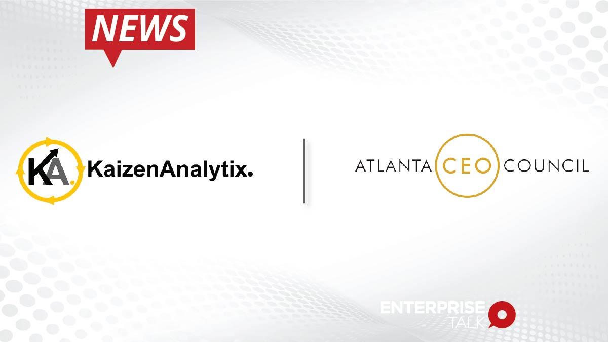 Kaizen Analytics Announces Atlanta CEO Council Company Membership