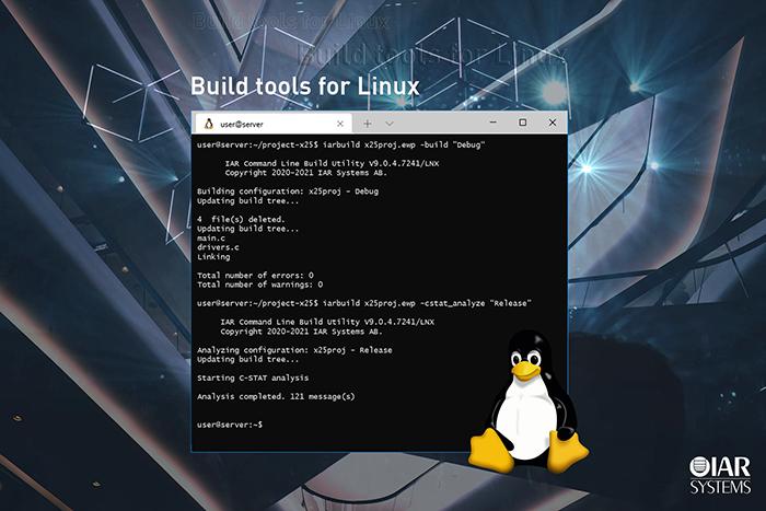 IAR_Build_Tools_for_Linux_Press