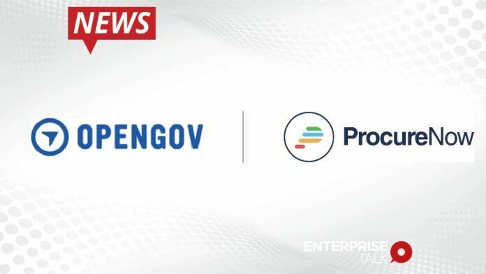 OpenGov Acquires Government Procurement Software Leader ProcureNow