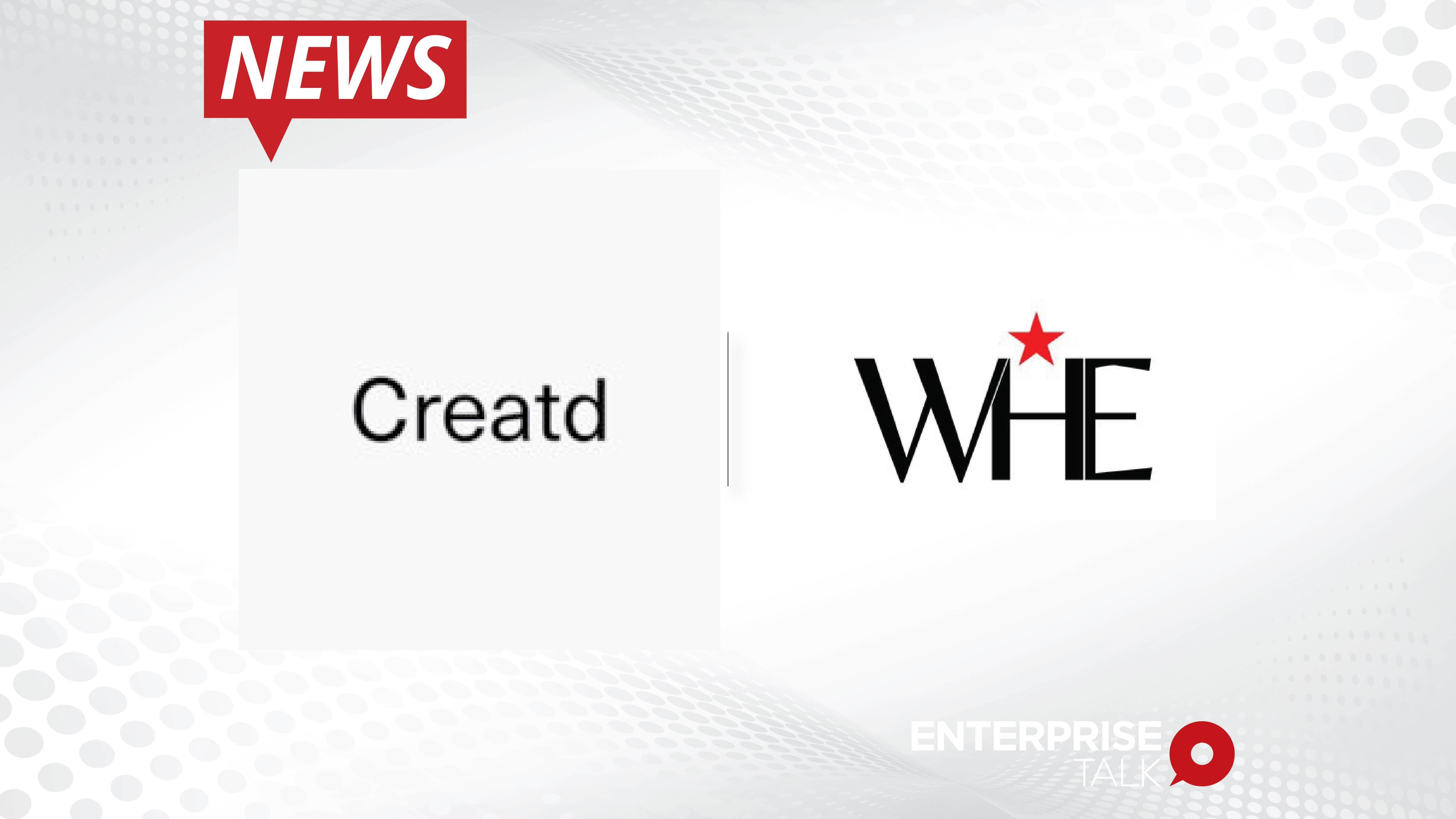 Creatd Completes Acquisition of Controlling Stake in Influencer Talent Management Agency_ WHE-01